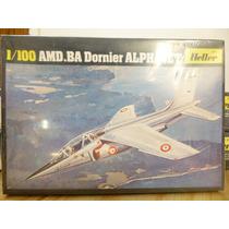 Maqueta Heller Avion A M D Dornier Alphajet,esc 1/100,nueva
