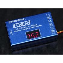 Cargador Baterias Lipo Dc-4s Con Balanceador 2s-3s-4s