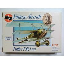 -full- Fokker Dr1 1917 1/72 Airfix Nº 01074