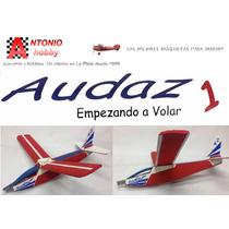 Audaz 1 Avion Planeador Listo Para Volar El Más Resistente!
