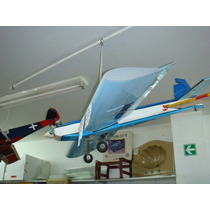 Avion Ala Baja 1.20 Mts Avion Electrico Canopy Lancha 90cm