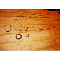 Plano Tamaño Natural Focke Wulf J44 Biplano Rc