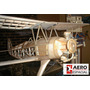 Kit Focke Wulf J44 Biplano Rc Motor 25