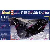 Avion Revell F-19 Stealth Fighter P/armar 1:144 Kit 04051