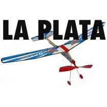Cabito 2 Modelo Kit Madera Balsa Propulsión A Goma La Plata