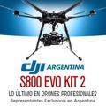 Hexacoptero Dji S800 Evo Gimbal Drone Lipo Gopro Gps Kit 2