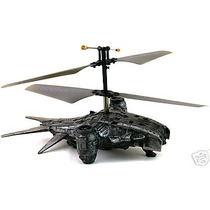 Impresionante Helicóptero Hunter Killer De Terminator, Comb