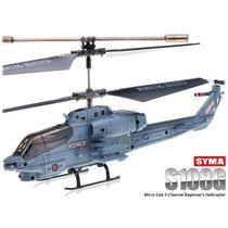 Helicóptero Electrico Radio Control Guerra!! En Moron!!