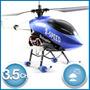Helicóptero Radio Control Remoto Rc Giroscopo 2 Velocidades