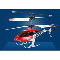 Helicoptero 3 Canales Remoto Exterior Interior Vmax Lelab