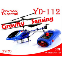Impresionante Helicóptero Radio Controlado Por Sensor De Gra