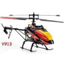 Helicoptero Grande A Radio Control Wl Toys V913 V 913