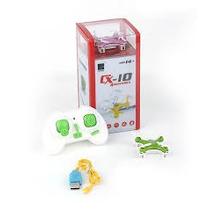 Mini Cuadricoptero 4 Canales Con Exclusivo Kit De Repuestos