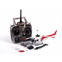 Helicóptero Tripala-3d-brushles-flybarles Wltoy V931 C/sis6g