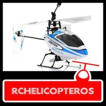 Helicoptero 4 Canales Rotor Simple Exterior Giroscopio V911