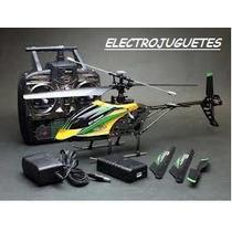Helicoptero R/c Exterior V912 4ch 2,4 Ghz Camara 2 Gb!!