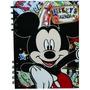 Agenda Mickey 15x21 Cm Espiralada Semana A La Vista Perpetua
