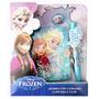 Diario Con Candado Disney Frozen Elsa Anna - Mundo Manias