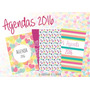 Kit Imprimible Calendario + Agenda 2016