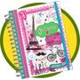 Agenda 2016 Avery Vintage Semanal Espiral+stickers Mataderos