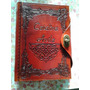 Libro Encuadernado Para Escribir- Diseño Antigüo