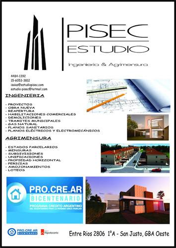 Agrimensor Y Maestro Mayor De Obras- San Justo