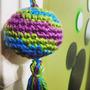 Borla + Flecos A Crochet ! Elida A Tejer