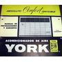 Manual Acondicionador De Aire York - Conqueror -