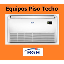 Aire Acondicionado Piso Techo Bgh De 9000 Frio Calor Trif