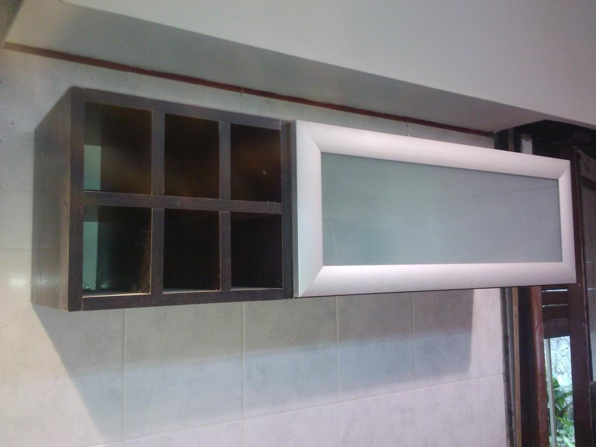 Muebles de cocina con vidrio esmerilado 20170715143126 for Severino muebles cocina alacena melamina blanca
