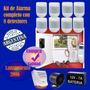 Kit Alarma Casa Comercio Completa Facil De Instalar
