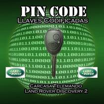 Carcasa Telemando Llave Land Rover Discovery 2 C/logo