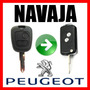 Carcasa Navaja Llave Remoto Peugeot 106 206 207 306 406