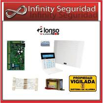 Alarma Alonso A2k8 Inalambrica Teclado Lcd, Llamador Con Voz