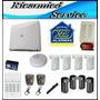 Kit De Proteccion Perimetral Casa Con Mascotas X-28 Alarmas