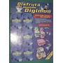 Album Figuritas Clasificador Digimon Arcor Stickers Vacio