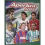 Album Figuritas Futbol Apertura 2005 Panini Vacio Impecable