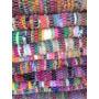 Alfombra Chindi Totora Multicolor 50x80 Deconamor Regalos