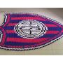 Camiseta San Lorenzo Alfombra Crochet De Totora Única