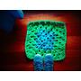 Alfombra Tejida A Crochet Con Totora