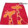 Alfombra Carpeta Infantil Jirafa 120x170cm Kreatex