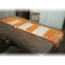 Camino /carpeta De Mesa Crochet Totora