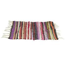 Alfombra Multicolor Chindy Flecos 40 X 60 Cm Textil Morph