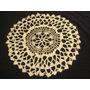 Carpeta Tejida Crochet Hilo