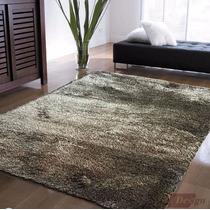 Carpeta Alfombra Shaggy Bengala 140 X 200cm Modern Fundasoul
