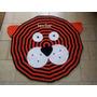 Alfombra Tigre/oso /mono /gato Tejida Al Crochet Infantiles