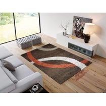 Carpeta Alfombra Shaggy Fluff 150 X 200 Cm Moderna Fundasoul