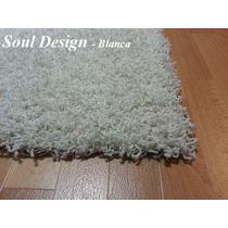 Carpeta Alfombra Satori Shaggy 120 X 170 Cm, Fundasoul