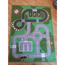 Carpeta Alfombra Infantil Pista 100x133cm Decor Interiores