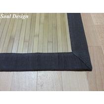 Carpeta Alfombra Bambu Con Guarda 180x270cm Linea Fundasoul